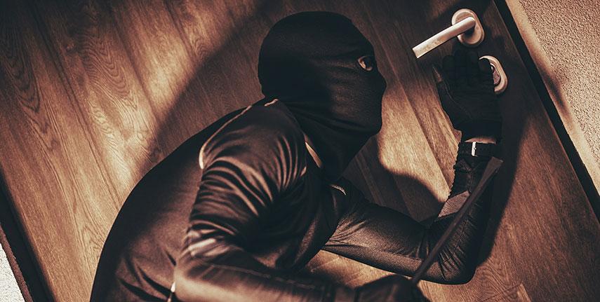 Hur skydda sig mot inbrott?