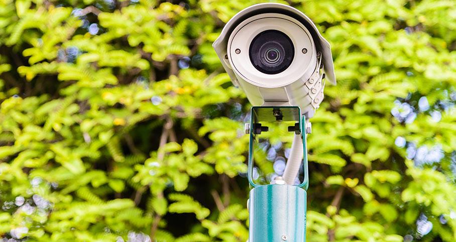 Områden där du inte bör använda kameraövervakning
